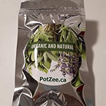 Organic Herbal Smoking Blend, Herbal Mixture, 100% Natural, Nicotine & Tobacco Free, Smooth & Flavorful, Featured on Leafly (Chamomile BlackBerry.5oz Pouch)