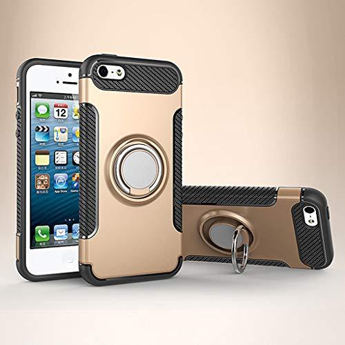 HFXLH Mode case für iPhone 6 s 6 s 7 7 s 8 Plus ihone 6 Plus 6 splus 7 Plus 8 Plus Handy Metall magnetische Halterung Abdeckung, 3, für iPhone 6 splus