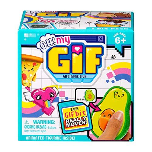 Famosa- Coleccionable Oh My Gift, 35 GIFS para escanear con la APP y compartir en RRSS (700016032)