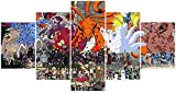 Jackethings Naruto Poster Sinobi World Anime Posters Unframed for Living Room Wall Decor