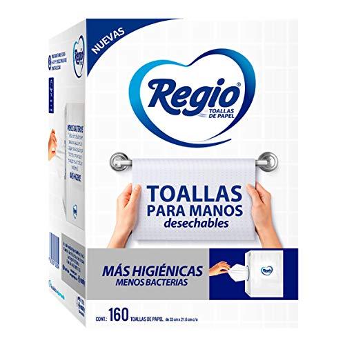 Toallas Interdobladas marca Regio