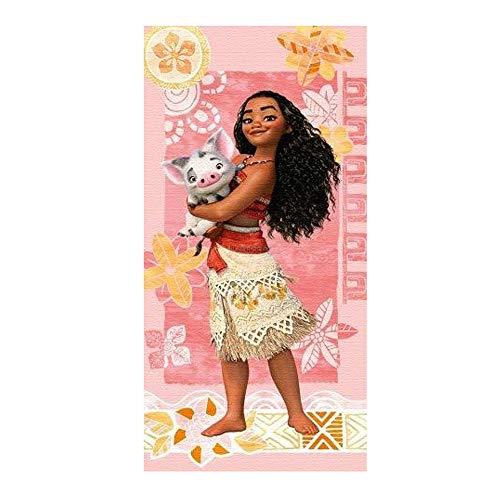 Disney VAIANA Handtuch Strandtuch 75x150 cm 100% Baumwolle Cotton