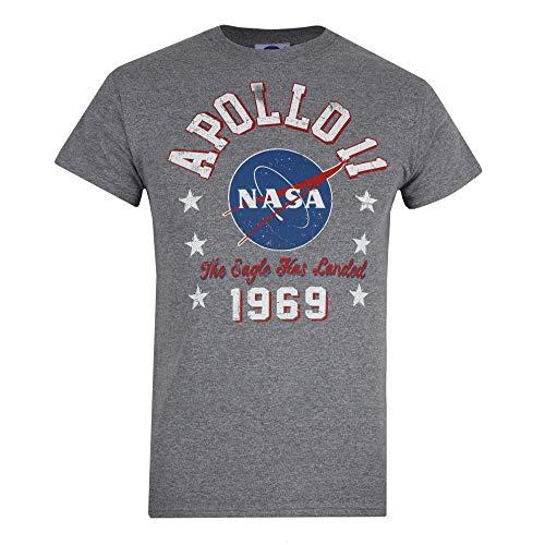 Nasa 1969 T-Shirt, Graphite Grey, Large Uomo