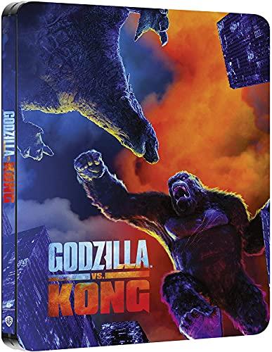 ゴジラvsコング 4K UHD 限定スチールブック仕様 [4K UHD+Blu-ray ※日本語無し](輸入版) -Godzilla vs Kong Steelbook-