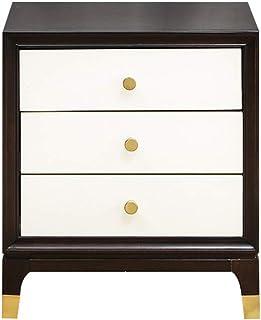 Table de chevet simple boîte de rangement en bois boîte de rangement de fichiers boîte nécessités quotidiennes boîte de ra...
