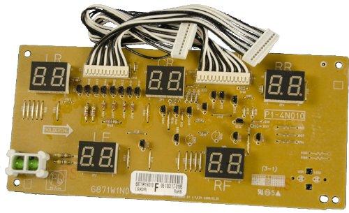 LG Electronics 6871W1N010F Electric Range Main PCB
