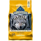 Blue Buffalo Wilderness High Protein, Natural Adult Healthy Weight Dry Dog Food, Chicken 4.5-lb