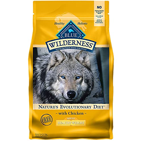 Blue Buffalo Wilderness High Protein, Natural Adult Healthy Weight Dry Dog Food