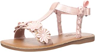 OshKosh B'Gosh Kids Marian Girl's Flower T-Strap Sandal