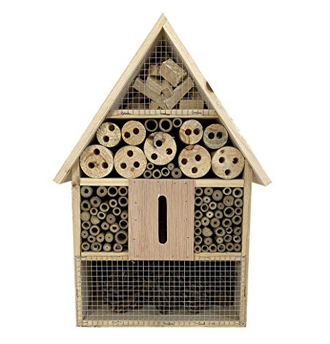 Selections Wooden Insect, Bug & Bee House Garden Wildlife Habitat