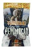 Pemmican Premium Beef Jerky in a Resealable Bag - Teriyaki Flavor - One 12 Oz Bag