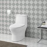 Swiss Madison SM-1T112 Ivy One Piece Toilet Dual Flush
