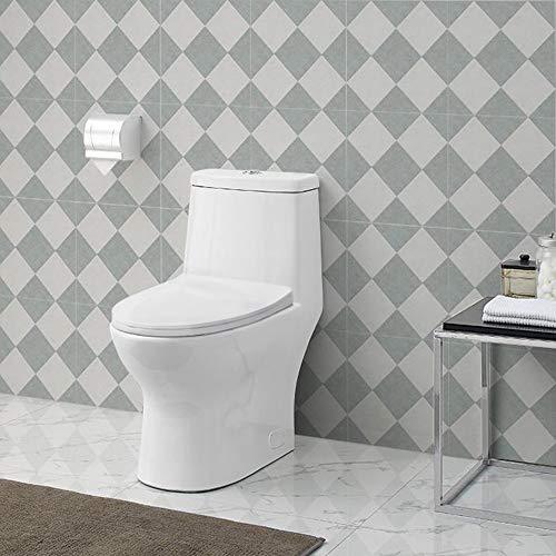 Swiss Madison SM-1T112 Ivy One Piece Toilet Dual Flush