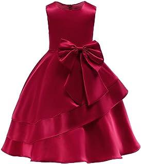 BTTNW CL Vestido de Princesa de Las niñas Vestido de Las niñas de los niños Ropa Falda de los niños Vestido Largo de los n...