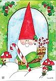 43LenaJon Gartenzwerg für den Urlaub, rustikale Flaggen, hängender Hof, Outdoor-Dekoration, personalisierbar