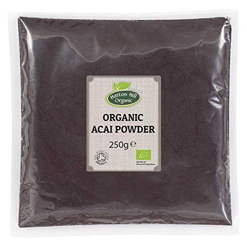 BIO Acai Beeren Pulver Gefriergetrocknet 250g von Hatton Hill Organic – BIO zertifiziert