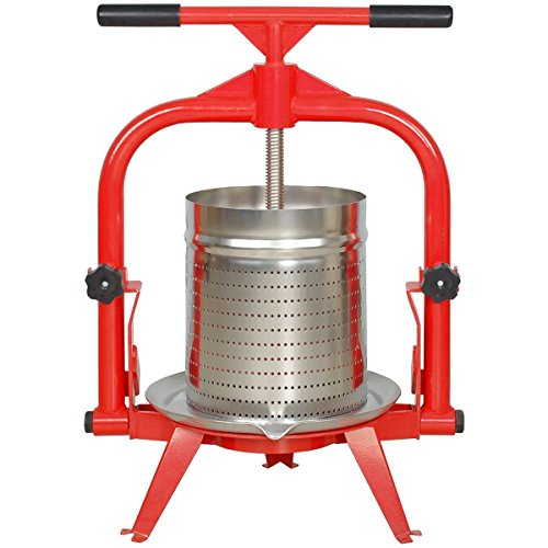 MacIntosh 4 Gallon Fruit Press + Stainless Basket