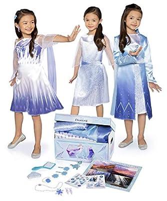 Disney Frozen 2 Elsa's Journey Dress Up Trunk Deluxe 17-Piece [Amazon Exclusive]