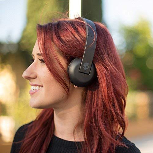 SKULLCANDY - Casques audio sans fil supra-aural UPROAR WIRELESS ON/EAR - Clear/Scribble/Black
