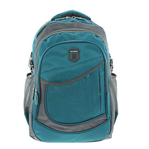 BAG STREET Schulrucksack Alltag Rucksack, City Rucksack, Backpack Bag Reiseucksack Türkis -by Beauty-Butterfly24