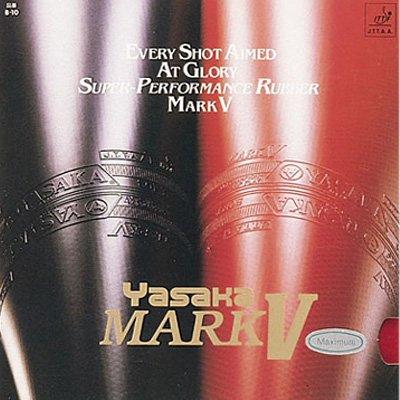 Goma Yasaka Mark V para paleta de tenis de mesa, negro