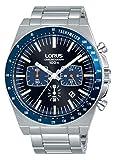 Lorus Herren Analog Quarz Uhr mit Edelstahl Armband RT347GX9