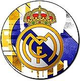 Real Madrid C.F. Alfombrilla Redonda Round Mousepad PC