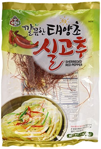 Chili Thread for Garnishing / Shredded Red Pepper ShilGoChu (1 Oz/28g)
