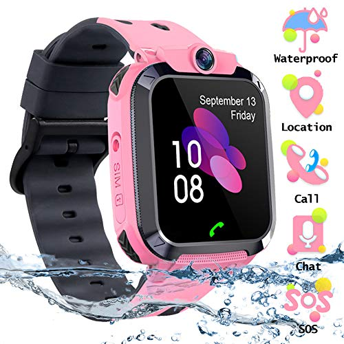 SZBXD Kids Waterproof Touchscreen Smartwatch