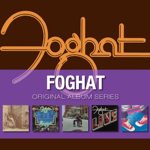 Original Album Series : Energized / Foghat / Fool for the City / Live / Tight Shoes (Coffret 5 CD)