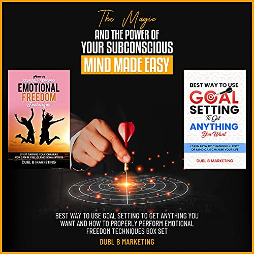 The Magic and the Power of Your Subconscious Mind Made Easy Audiobook By Dubl B Marketing cover art