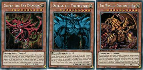 SPEED DUEL Yugioh ALL 3 Yu-Gi-Oh! Duel Monster Legendary Egyptian GOD...