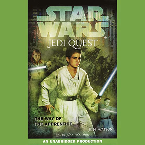 Star Wars: Jedi Quest, Book 1: The Way of the Apprentice cover art