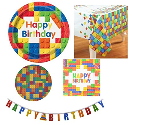 Building Blocks Party Supplies I...