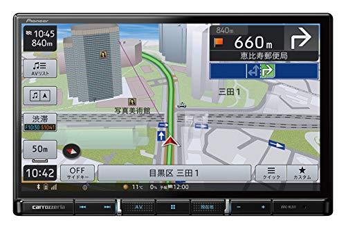パイオニア カーナビ カロッツェリア 楽ナビ 8型 AVIC-RL511 無料地図更新/フルセグ/Bluetooth/HDMI/USB/HD画質