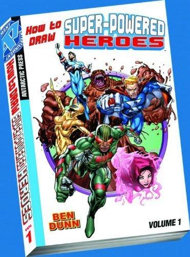 How to Draw Super-Powered Heroes Pocket Manga