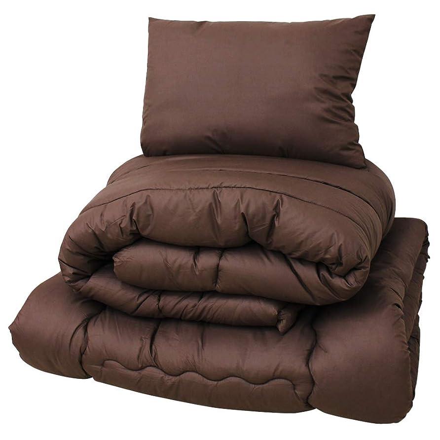 臭い分解する神のWEIMALL 布団セット シングル 3点 セット 洗える ほこりが出にくい 敷布団 掛布団 枕