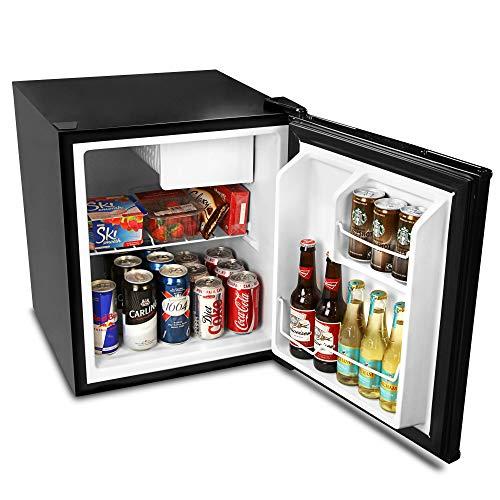 XXRUG Tragbarer Mini-Kühlschrank, Frostbite Zero Degrees kleiner Kühlschrank Eisbox 49 l Gefrierfach Kühler Schlafzimmer Caravan Büro Auto