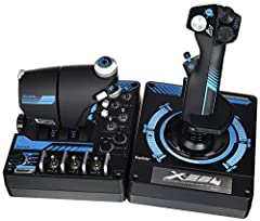 Military-grade Space and Flight Sim Precision: The X-56 Rhino delivers a multitude of customizable options including all the control surface options required to achieve the exact level of performance that aspiring combat pilots demand New Mini Analog...