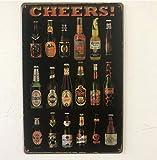 Cocina Whisky Pinup Ruta Placa Vintage Carteles de chapa de metal Inicio Bar Pub Garaje Decoración P...