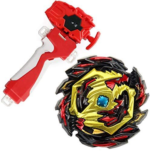 Bey Battle Evolution Blade Random Red String Launcher Grip God Bay B-145 Booster DX Starter Venom Diabolos.Vn.Bl Spinning Toy Game Accessories Bey Burst Gaming Top Battling Gyro Starter Set Boy's Gift