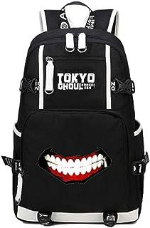 Siawasey Anime Tokyo Ghoul Cosplay Kaneki Ken Mochila Daypack Librero Portátil Bolsa Escuela