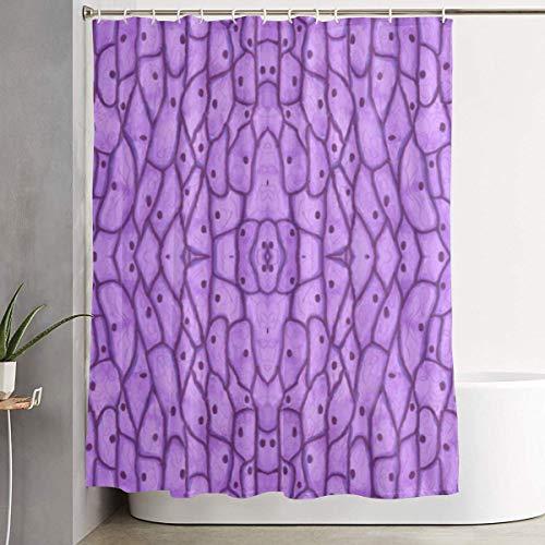 ANTOUZHE Mikroskopische Zwiebelzellen, pflegeleicht, wasserdicht, Duschvorhang Liner Badezimmer Hotel Dekoration