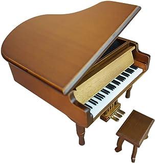 Vintage Music Box Music Box Piano Wooden Jewelry Box Interior Music Box Present Music Lover Birthday