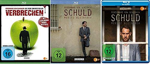 Verbrechen + Schuld - Staffel 1+2 [Blu-ray]