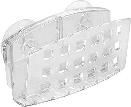 """InterDesign - Soporte con Ventosa para Fregadero de Cocina para jabón, Grande, Transparente, 2"""" x 5.4"""" x 4.4"""", 1"""