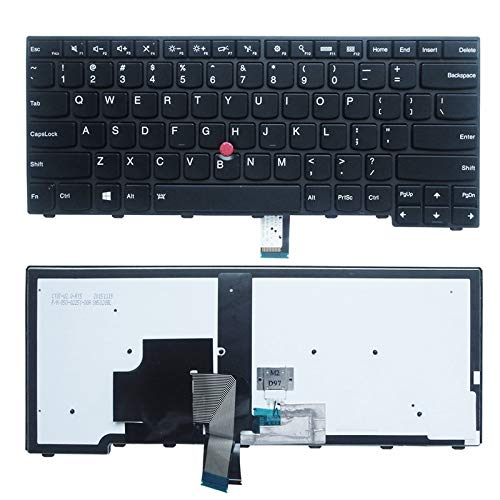 NEW US Keyboard W/Backlight for Lenovo IBM Thinkpad T440 T450 T450s Laptop backlit
