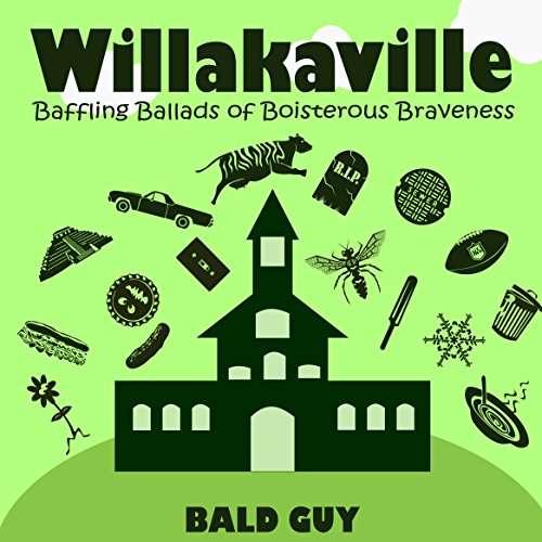 Willakaville audiobook cover art