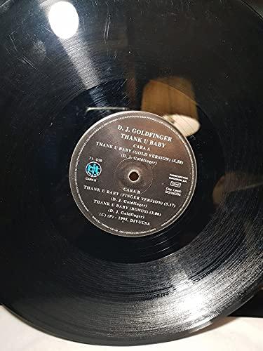 D.J. GOLDFINGER | DJ GOLDFINGER | THANK U BABY VINILO 12 INCH...