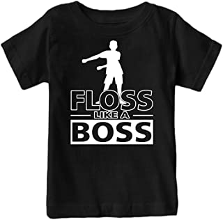 Fantastic Tees Kids Floss Like a Boss Flossin Dance Youth T Shirt